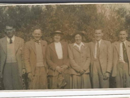 The Ross family 1956