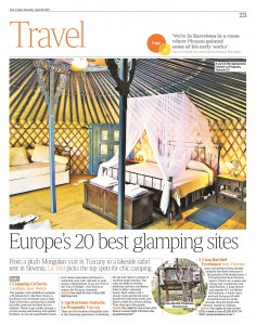 Glamping in the European context